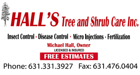 Hall's Tree and Shrub Care on Facebook